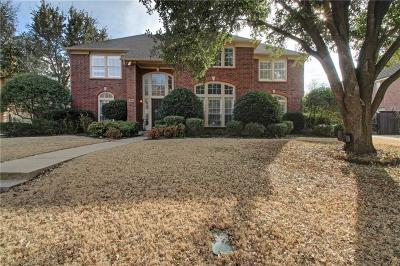 Fort Worth Single Family Home Active Option Contract: 6725 Savannah Lane