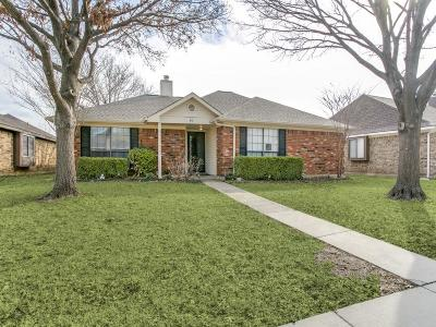 Coppell Single Family Home Active Option Contract: 613 Thompson Drive