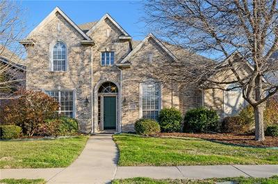 Plano Single Family Home Active Option Contract: 3129 Mill Ridge Drive