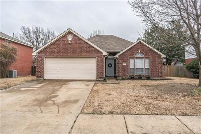 Rowlett Single Family Home Active Option Contract: 7510 Dartmouth Drive
