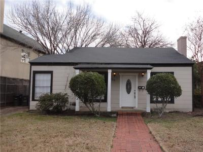 Fort Worth Single Family Home For Sale: 5029 Byers Avenue