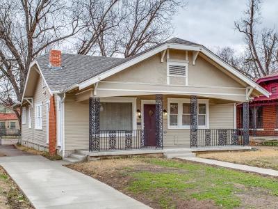 Dallas Single Family Home For Sale: 2722 Park Row Avenue