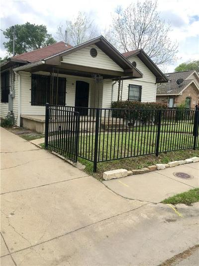 Dallas Single Family Home For Sale: 2022 Bickers Street