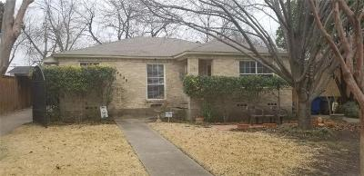 Dallas Single Family Home For Sale: 4620 Weldon Street