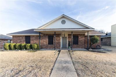 Sachse Single Family Home Active Option Contract: 3124 Tina Street