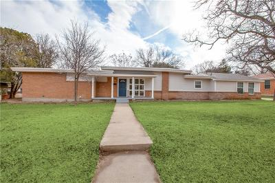 Richland Hills Single Family Home Active Option Contract: 7260 Hardisty Street
