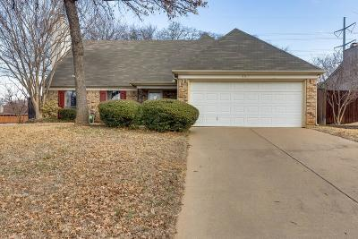 Euless Single Family Home Active Option Contract: 301 Witten Court
