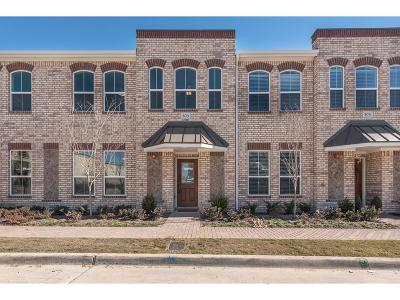 Lewisville Townhouse For Sale: 221 Belleville Drive