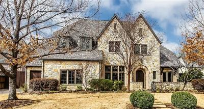 Coppell Single Family Home Active Option Contract: 623 Deforest Court