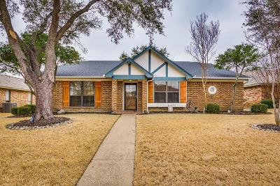 Garland Single Family Home Active Option Contract: 2226 Kimberly Drive
