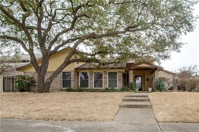 Richardson Single Family Home For Sale: 1141 Wilderness Trail