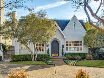 University Park Single Family Home For Sale: 4237 San Carlos Street
