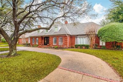 Colleyville Single Family Home For Sale: 4012 Southwood E