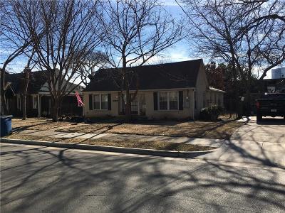 Dallas Single Family Home Active Option Contract: 5109 Parkland Avenue