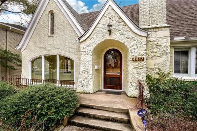 Highland Park, University Park Single Family Home For Sale: 4417 Potomac Avenue