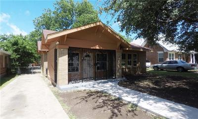 Dallas Single Family Home For Sale: 815 S Montclair Avenue
