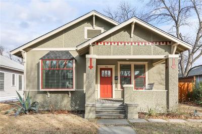 Dallas Single Family Home For Sale: 906 N Clinton Avenue