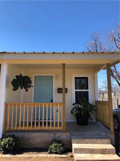 Abilene Single Family Home For Sale: 1218 Ross Avenue