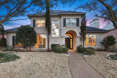 Plano Single Family Home Active Option Contract: 2612 Notre Dame Drive