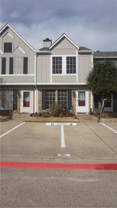 Euless Townhouse For Sale: 86 Winchester Drive