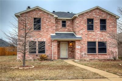 Cedar Hill Single Family Home Active Contingent: 222 Trees Drive