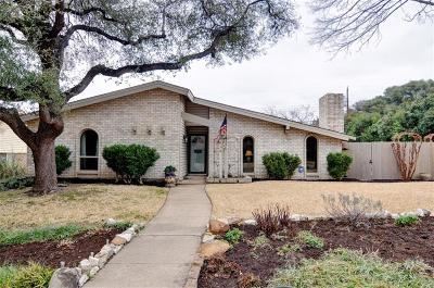 Dallas Single Family Home For Sale: 6615 Hillbriar Drive