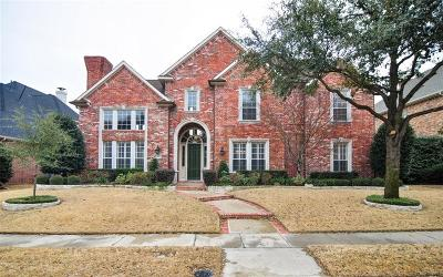 Plano Single Family Home Active Contingent: 5732 Clarendon Drive