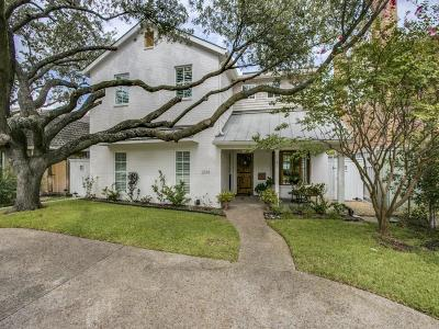 University Park TX Single Family Home For Sale: $1,399,999