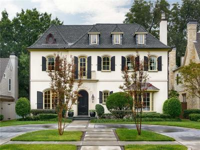 University Park Single Family Home For Sale: 3921 Southwestern Boulevard