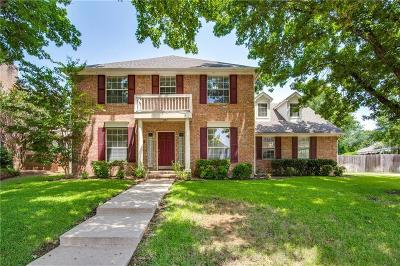 Grapevine Single Family Home Active Option Contract: 2809 Wateridge Court