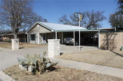 Stephenville TX Single Family Home For Sale: $159,595