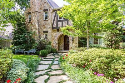 University Park Single Family Home For Sale: 3120 Greenbrier