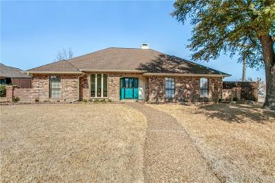 Plano Single Family Home Active Option Contract: 1401 Brazos Trail