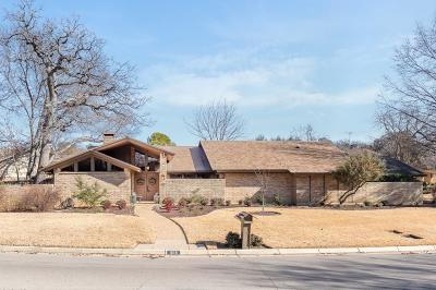Arlington Single Family Home Active Option Contract: 1105 Crowley Road