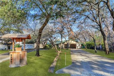Fort Worth Single Family Home Active Option Contract: 9380 Live Oak Lane