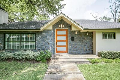 Dallas Single Family Home For Sale: 6223 Royal Crest Drive