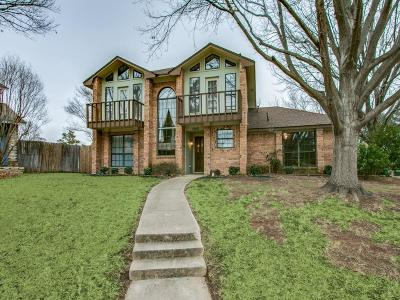 Lewisville Single Family Home Active Option Contract: 1850 Yorkshire Circle
