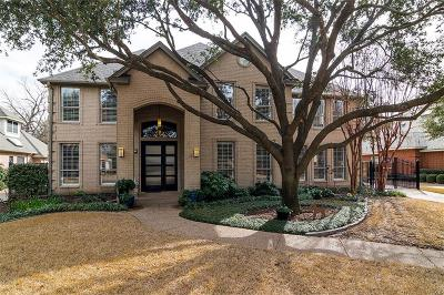 Fort Worth Single Family Home For Sale: 2813 Oakbriar Trail