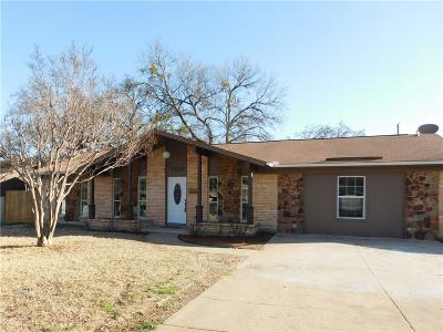 Fort Worth Single Family Home For Sale: 7432 Beckwood Drive