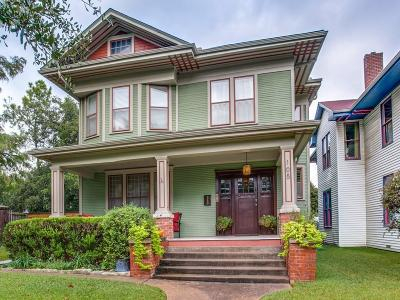 Dallas Single Family Home Active Contingent: 105 S Winnetka Avenue