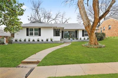 Dallas Single Family Home For Sale: 9021 Aldwick Drive