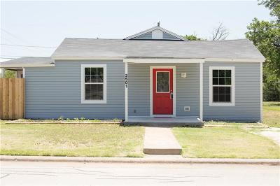 Abilene Single Family Home For Sale: 2501 S 18th Street