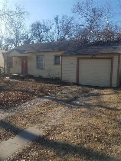 Dallas Single Family Home For Sale: 3117 Mundy Drive