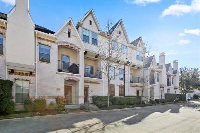 Dallas Townhouse Active Option Contract: 8824 Tudor Place