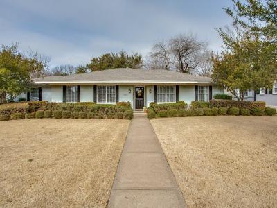 Dallas Single Family Home For Sale: 3607 Jubilee Trail