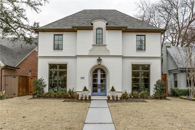 Highland Park, University Park Single Family Home Active Option Contract: 3428 Purdue