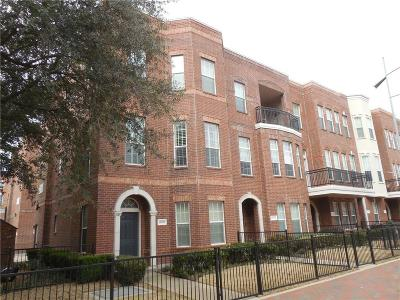 Addison Townhouse For Sale: 15759 Spectrum Drive