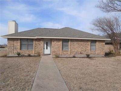 Wylie Single Family Home Active Option Contract: 101 Windsor Drive