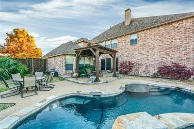 Allen Single Family Home Active Option Contract: 910 Crystal Springs Drive