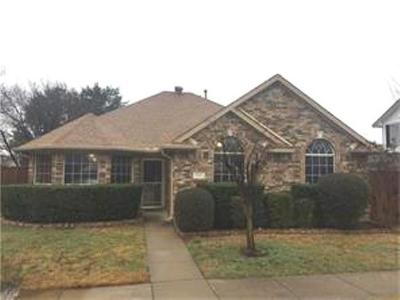 Rowlett Single Family Home Active Option Contract: 3801 Smartt Street